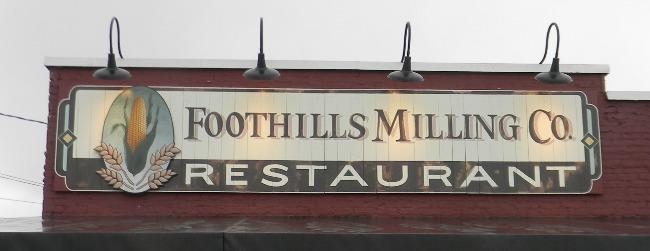 Foothills MC sign